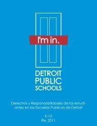 Derechos y Responsabilidades de los estudi - Detroit Public Schools