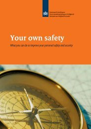 Your own safety - National Coordinator for Security and ...