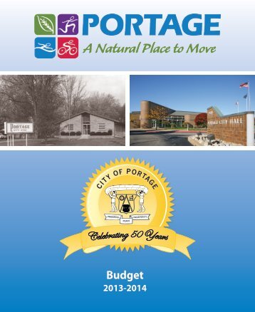 MOD 2013 2014 Proposed Budget - City of Portage