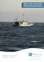 Atlas of the Commercial Fisheries Around Ireland - Marine Institute