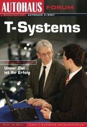 Unser Ziel ist Ihr Erfolg - T - Systems International Gmbh