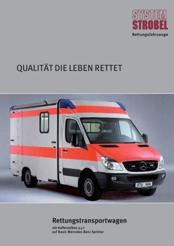 Daimler Chrysler, Sprinter - Koffer - System-Strobel