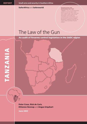 Tanzania - Saferworld