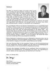 Stationäre Familienbetreuung: Heimerziehung als Raum für ...