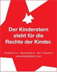 Der Kinderstern steht für die Rechte der Kinder. - Kinderstern eV
