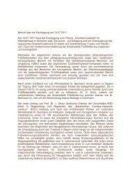 Bericht über die Fachtagung - Arbeitsstelle Frühförderung Bayern