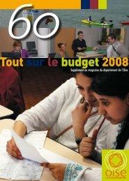 Numéro 35 supplément budget - Conseil général de l'Oise