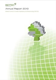 Annual Report 2010 - National Center for Genetic Engineering and ...