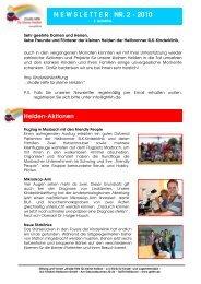 Newsletter 2 - für 3. Quartal-Entwurf 1 - Große Hilfe für kleine Helden