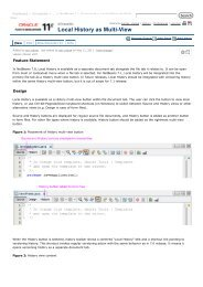 Local History as Multi-View - NetBeans Wiki