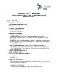 convenio cofa – liberty art normas de atencion para la dispensacion ...