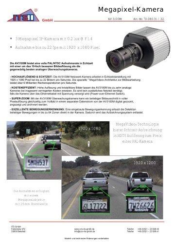 Megapixel-Kamera - IP CCTV GmbH
