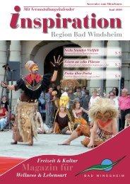 Juni 2010:Layout 1 - Magazin Inspiration - Bad  Windsheim
