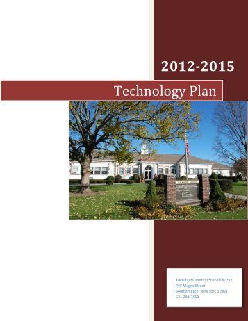 Technology Plan 2012-2015.pdf - Tuckahoe Common School District