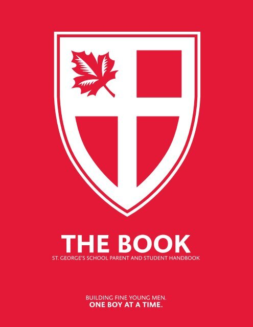 The Book - Student Handbook 2013-2014 - St. George's School