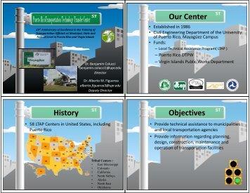 PR-LTAP Presentation.pdf - the Puerto Rico Transportation ...