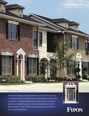 Townhouse Embellishments - Fypon, Ltd.