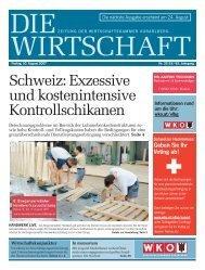 Schweiz:exzessive undkostenintensive Kontrollschikanen