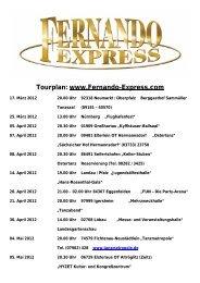 21. Juli 2012 - Fernando-Express
