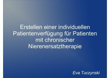 Erstellung einer individuellen Patientenverfügung ... - WB-nephro.de