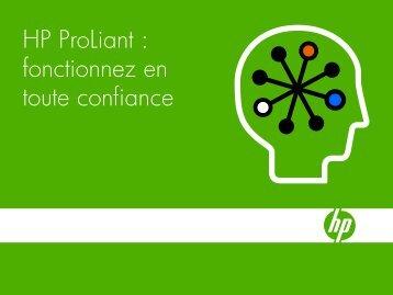 Serveurs et solutions HP ProLiant