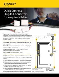 Quick Connect Plug-In Connectors for easy installation.
