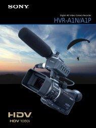 HVR-A1N/A1P