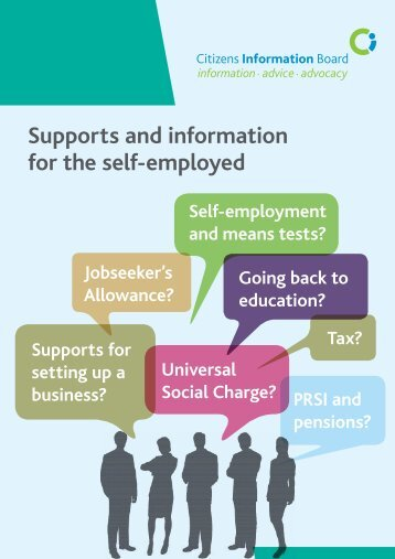 Supports and information for the self-employed - Citizens ...