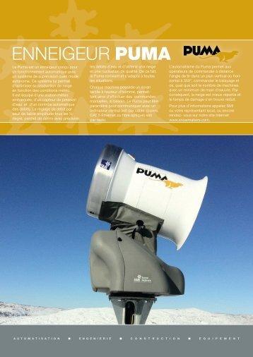 Puma King of the Mountain (Fr) - Snow Machines, Inc.