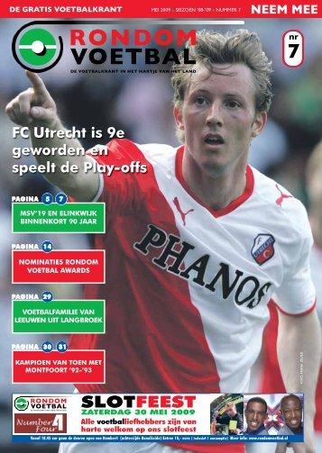 seizoen 2008/2009 nummer 7 - Rondom Voetbal