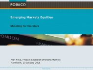 Emerging Markets Equities - Fonds Professionell