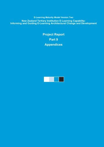 Section Nine - Centre for Academic Development - Victoria ...