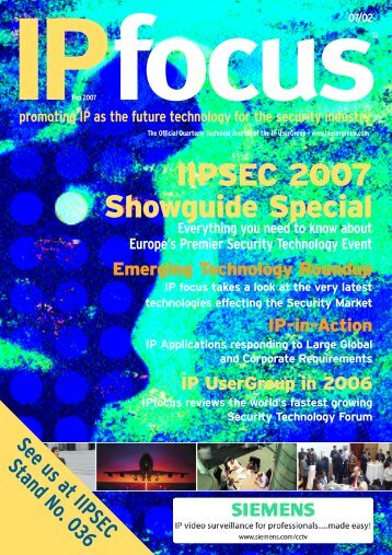 IPfocus Feb 2007 Mag - IP UserGroup