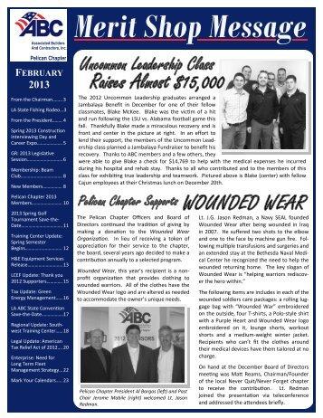 February 2013 Newsletter - ABC