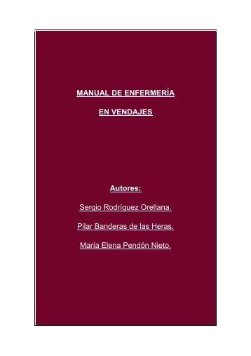 Manual de Enfermeria en Vendajes - Todoenfermeria