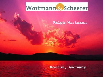 Bochum, Germany Ralph Wortmann