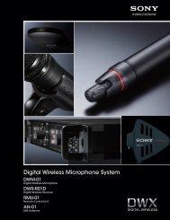 Digital Wireless Microphone System