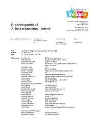 Protokoll - KJF Regensburg