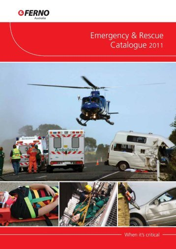 Emergency & Rescue Catalogue - Emergency Rescue Height Safety ...