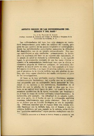 Aspecto Medico de las Enfermedades del Higado y del Bazo