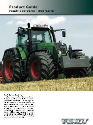 Vario 700-800 Product info guide (4.90 mb) - Farm Depot
