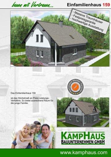 Haus Janzen - KampHaus Bauunternehmen GmbH