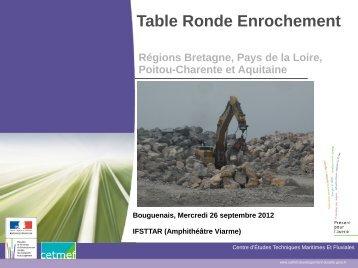 Table Ronde Enrochement - Webissimo