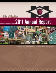 2011 Annual Report - City of Hopkins