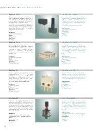 Rast/Tastschalter / Push Button Switches with ... - DAU Components