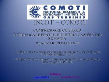 Compresoare cu şurub livrate de INCDT-COMOTI - Petroleumclub.ro