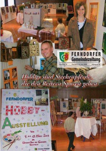 FERNDORFER Gemeindezeitung - Gemeinde Ferndorf