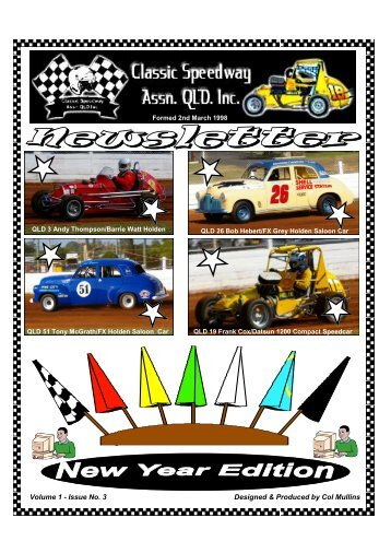 Issue No. 3 - Classic Speedway Assn QLD