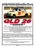 Issue No. 3 - Classic Speedway Assn QLD - Page 3