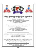 Issue No. 3 - Classic Speedway Assn QLD - Page 4
